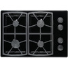 Dacor Classic 4-Burner Gas Cooktop (Black) (Common: 30-in; Actual: 30-in)