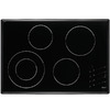Dacor Renaissance Smooth Surface Electric Cooktop (Black) (Common: 30-in; Actual 30.25-in)