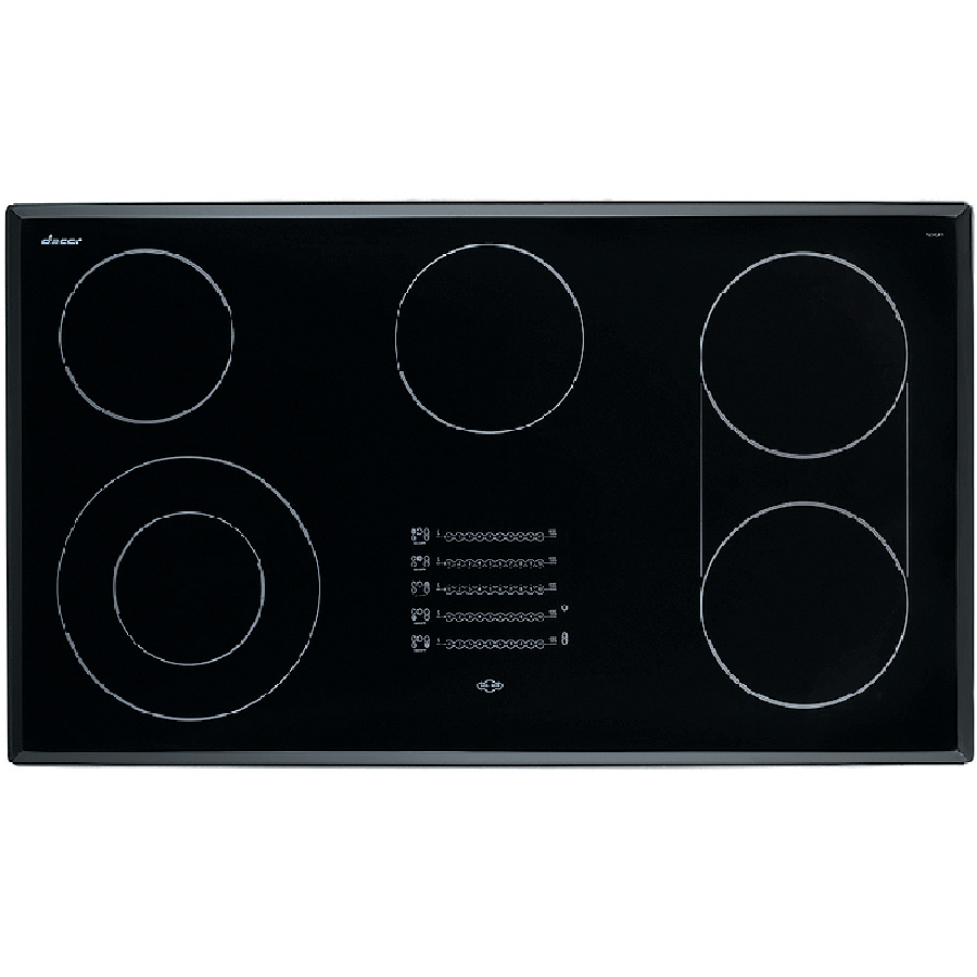 Shop dacor discovery 5 element smooth surface electric for Dacor cooktop