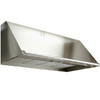 Dacor Ducted Wall-Mounted Range Hood (Stainless Steel with Chrome Trim) (Common: 48-in; Actual 48-in)