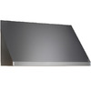 Dacor Ducted Wall-Mounted Range Hood (Stainless Steel with Chrome Trim) (Common: 42-in; Actual 42-in)