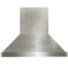 Dacor Ducted Island Range Hood (Stainless Steel) (Common: 36-in; Actual 36-in)