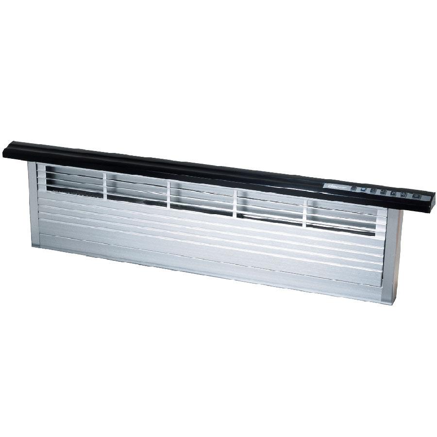 Shop dacor downdraft range hood black at for Ranges with downdraft ventilation
