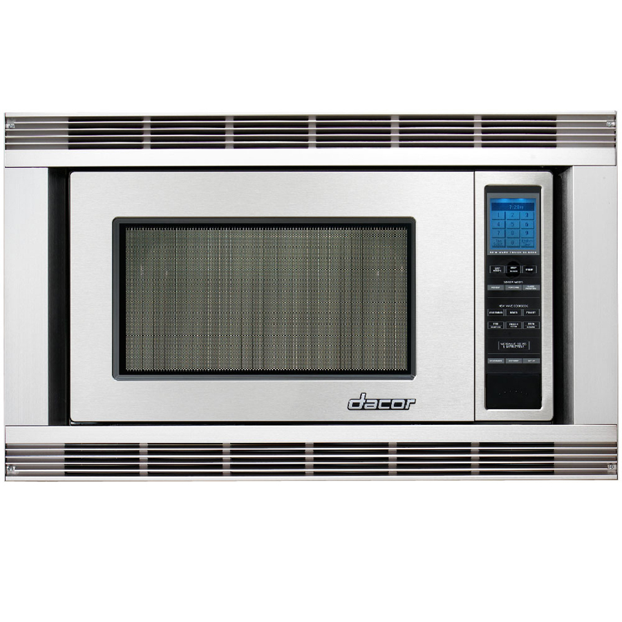 Shop dacor 27 in stainless steel microwave trim kit at for Decor microwave