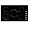 Dacor Distinctive 5-Element Smooth Surface Electric Cooktop (Black) (Common: 36-in; Actual 36-in)
