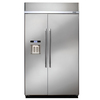 Dacor Discovery 25.3-cu ft Built-In Side-By-Side Refrigerator with Single Ice Maker (Stainless Steel) ENERGY STAR
