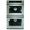 Dacor Distinctive Self-Cleaning Convection Single-Fan Double Electric Wall Oven (Stainless Steel) (Common: 27-in; Actual: 27-in)