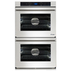 Dacor Renaissance Self-Cleaning Convection Single-Fan Double Electric Wall Oven (Stainless Steel) (Common: 30-in; Actual: 30-in)