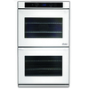 Dacor Distinctive Self-Cleaning Convection Single-Fan Double Electric Wall Oven (White Glass) (Common: 30-in; Actual: 30-in)