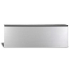 Capital 9-in Wall Mount Stainless Steel Low Back for 30-in Range