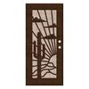 TITAN Nogales Powder-Coat Copperclad Aluminum Surface Mount Security Door (Common: 36-in x 80-in; Actual: 38.5-in x 81.563-in)
