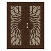 TITAN Sunfire Powder-Coat Copperclad Aluminum Surface Mount Security Door (Common: 60-in x 80-in; Actual: 62.5-in x 81.563-in)