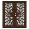TITAN Sunfire Powder-Coat Copperclad Aluminum Surface Mount Double Security Door (Common: 72-in x 80-in; Actual: 74.5-in x 81.563-in)