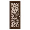 TITAN Sunfire Powder-Coat Copperclad Aluminum Surface Mount Security Door (Common: 36-in x 96-in; Actual: 38.5-in x 97.563-in)