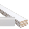 6-Piece 9/16-in x 5-1/4-in x 12-ft Paint Grade Composite Base Moulding Contractor Pack (Pattern L163e)