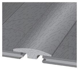Mullican Flooring 2-in x 78-in Natural T-Floor Moulding