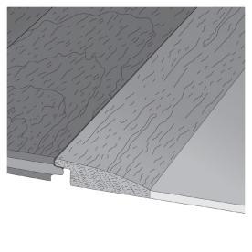 Mullican Flooring 2-in x 78-in Ebony Reducer Floor Moulding