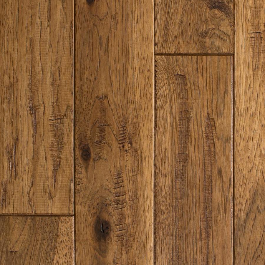 Flooring Knob Creek 4 In W Prefinished Hickory Hardwood Flooring .