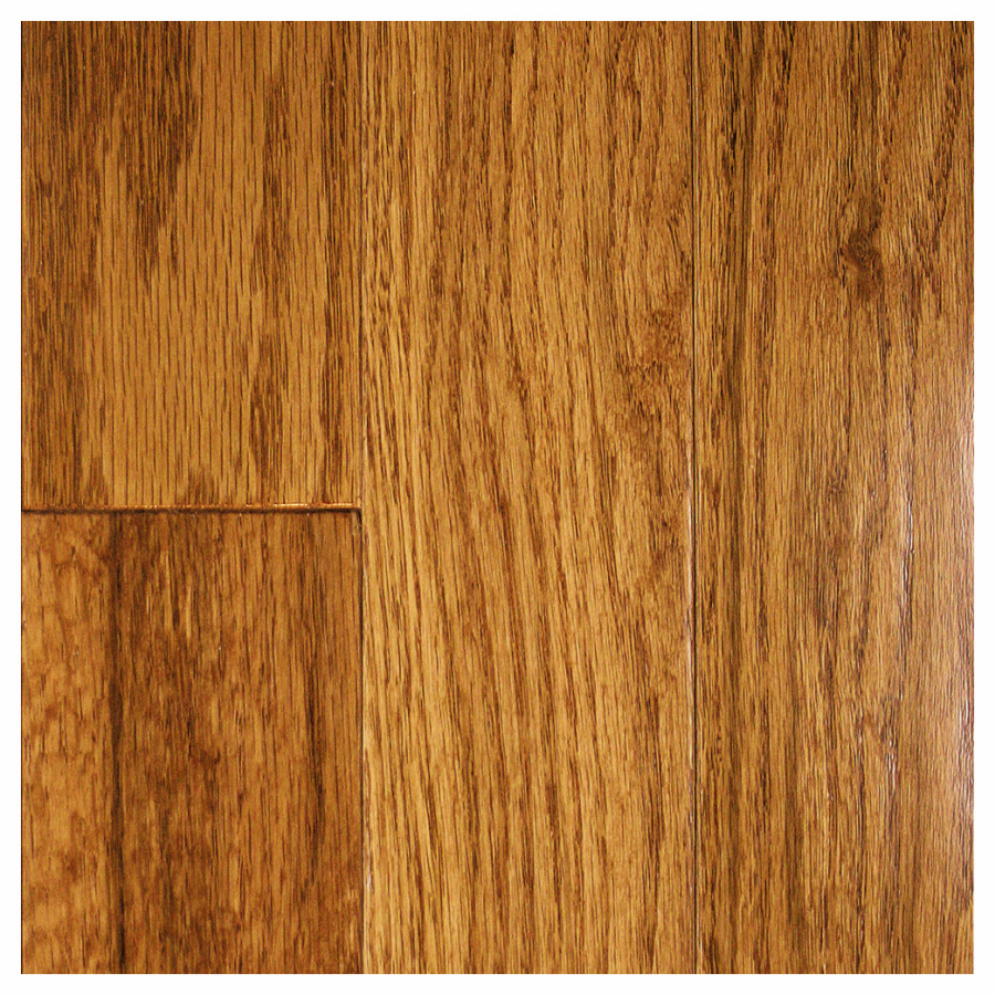 Shop mullican flooring muirfield 3 in w prefinished oak for Oak hardwood flooring