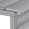 Mullican Flooring 3-in x 78-in Glacier Oak Stair Nose Floor Moulding