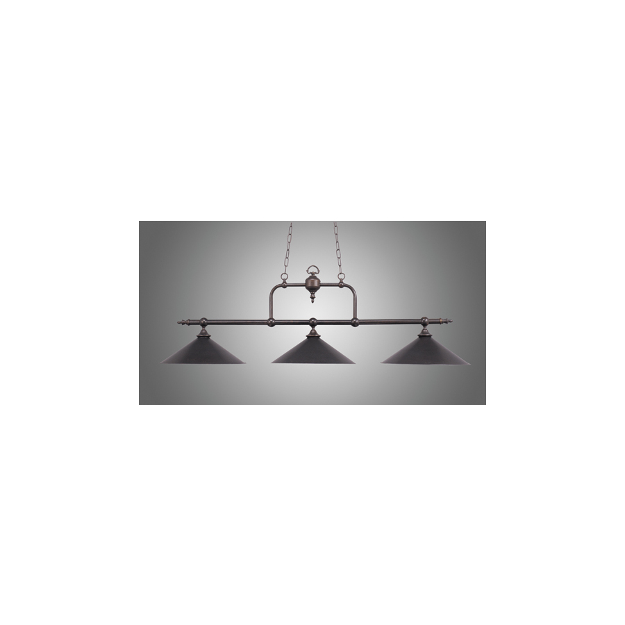 light tiffany bronze kitchen island light with tinted shade at lowes. Black Bedroom Furniture Sets. Home Design Ideas