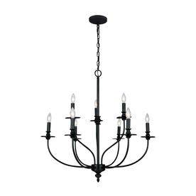 Westmore Lighting Hartford 9-Light Oil Rubbed Chandelier