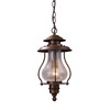 Westmore Lighting 16-in Coffee Bronze Outdoor Pendant Light