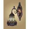 Westmore Lighting 4-1/2-in W Mix-N-Match 1-Light Tiffany Bronze Tiffany Style Arm Wall Sconce