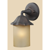 Westmore Lighting 10-in Clay Bronze Outdoor Wall Light