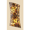 Westmore Lighting 6-in W Trego 2-Light Dark Rust Arm Wall Sconce