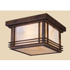 Westmore Lighting 11-in Hazelnut Bronze Outdoor Flush-Mount Light