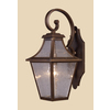 Westmore Lighting 19-in Coffee Bronze Outdoor Wall Light