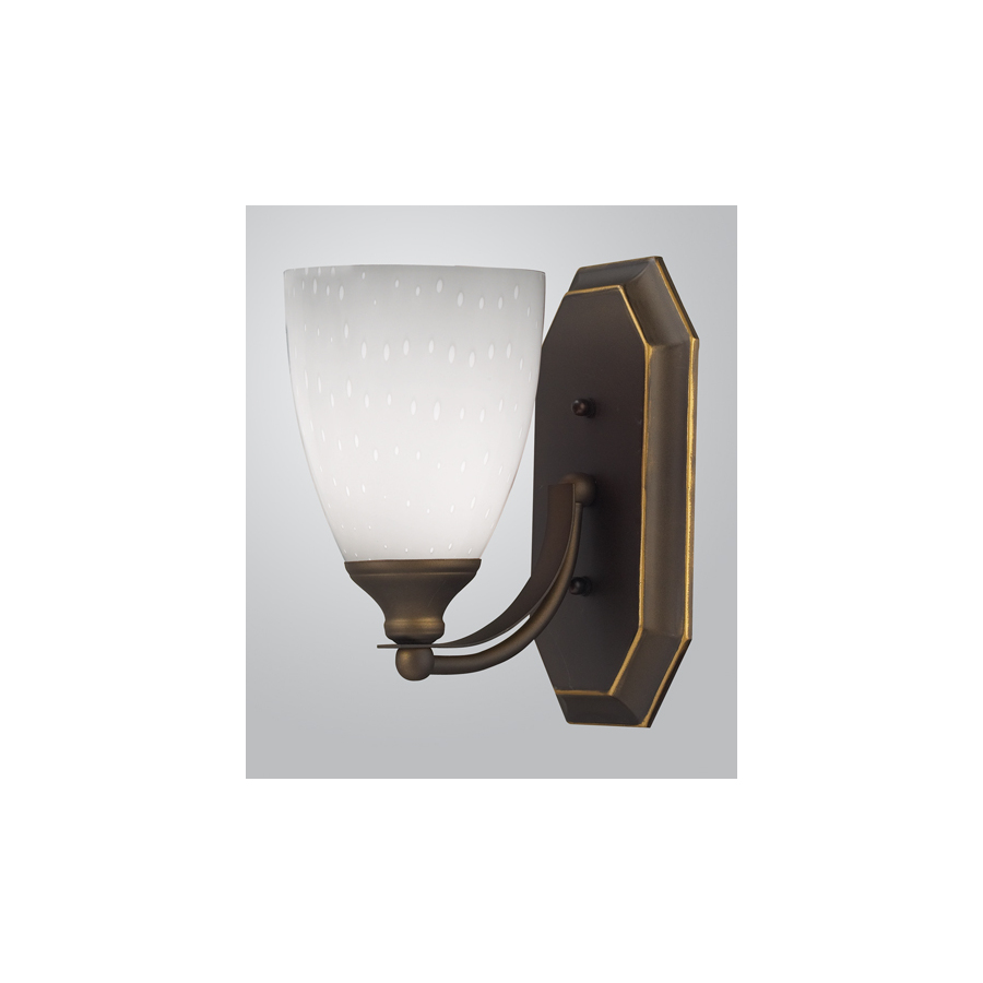 Vanity Light With Outlet Lowes : Shop Westmore Lighting Aged Bronze Bathroom Vanity Light at Lowes.com