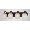 Westmore Lighting 4-Light Homestead Aged Bronze Bathroom Vanity Light