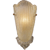 Westmore Lighting 8-in W Providence 1-Light Antique Gold Leaf Pocket Wall Sconce