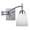 Westmore Lighting 22-in W Celina 1-Light Polished Chrome Arm Wall Sconce