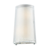 Westmore Lighting 8-in W 2-Light Polished Chrome Pocket Wall Sconce