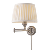 Westmore Lighting 12-in W 1-Light Antique Nickel Arm Wall Sconce