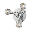Westmore Lighting 9-in W 1-Light Polished Chrome Arm Wall Sconce