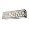 Westmore Lighting 2-Light Polished Nickel Bathroom Vanity Light
