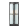 Westmore Lighting 17-in Graphite Outdoor Wall Light
