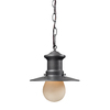 Westmore Lighting 10-in Graphite Outdoor Pendant Light