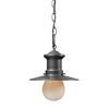 Westmore Lighting 10-in H Graphite Outdoor Pendant Light