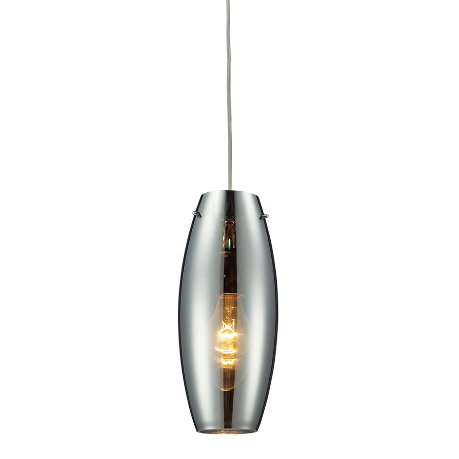 Mini pendant lights blown glass : Westmore lighting alvingham in w polished chrome