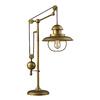 Westmore Lighting Crossens Park 32-in Antique Brass Indoor Table Lamp with Metal Shade