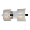 Westmore Lighting 2-Light Aprokko Polished Chrome LED Bathroom Vanity Light