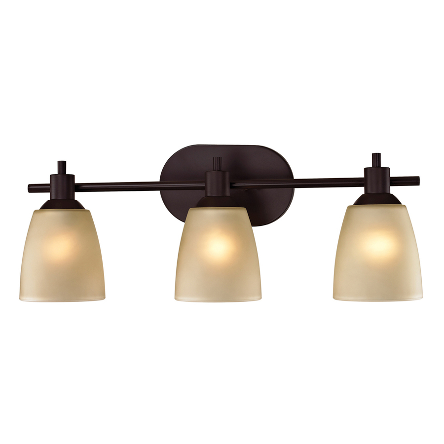 ... Lighting 3-Light Fillmore Oil Rubbed Bronze LED Bathroom Vanity Light