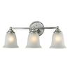 Westmore Lighting 3-Light Landisville LED Bathroom Vanity Light