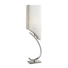 Westmore Lighting Bothart 36-in 3-Way Polished Nickel Indoor Table Lamp with Fabric Shade