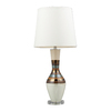 Westmore Lighting Domenico 33-in 3-Way New Bali Indoor Table Lamp with Fabric Shade